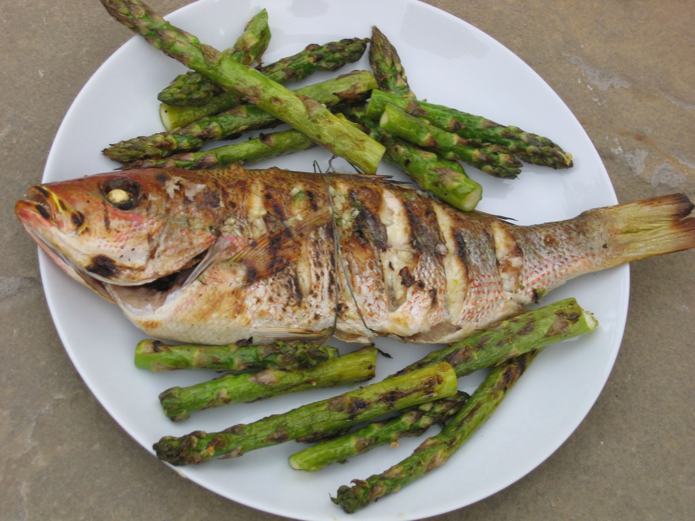 Whole fish on the grill elizabeth yarnell naturopathic for Fish and grill