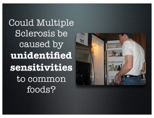 Could MS be caused by food?