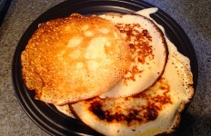 Swedish Pancakes -- Wheat-free, Dairy-free