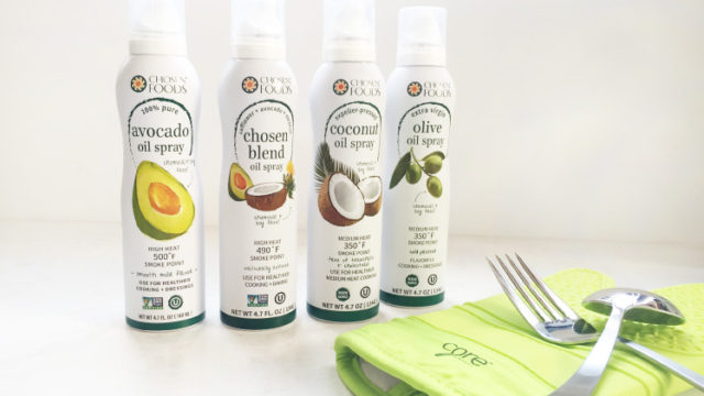 Chosen Foods oil spray